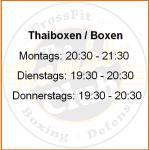 Thaiboxen