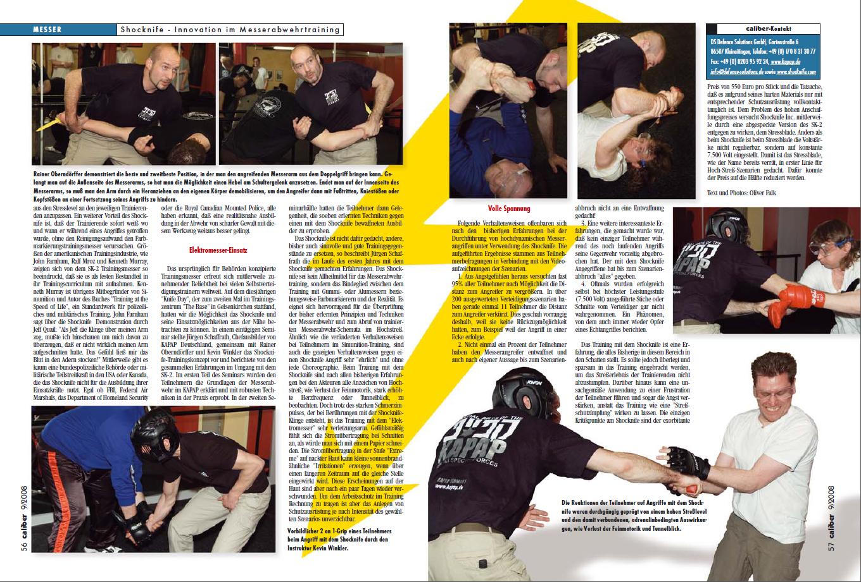Zeitungsartikel Caliber Shocknive Seite 2von2