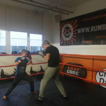Thaiboxen / Boxen für Kids im RumbleClub Dachau