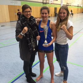 Bayerische Meisterin im Muay Thai / Thaiboxen im Verband des MTBD